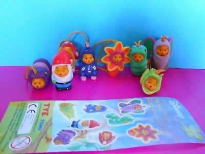 WINNIE THE POOH ANIMAL WEAR  GARDEN COMPLETA  Edition Tomy