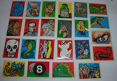 1963-65 Leaf Spook Stories Stickers $15.00 you pick