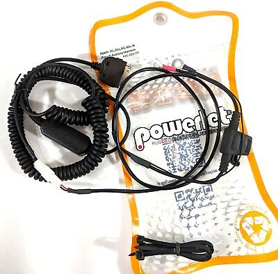 Apple 3G/ 3GS / 4G Motorcycle Battery Harness Charger iPod Touch  # PPC-026-DB