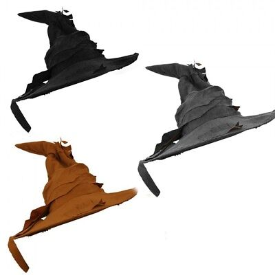 244a435790d Brown Witch Wizard Hat Halloween Fancy Dress Costume Book Film Movie  Character