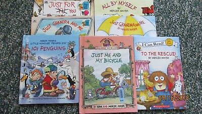 Lot of 8 Little Critter Books by Gina and Mercer Mayer