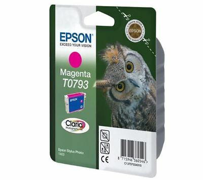NEW Epson 1400 Magenta Ink Cartridge T0793 GENUINE!