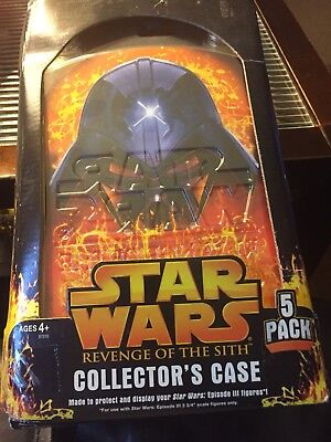 Star Wars Collectors Case Revenge Of Sith  5 Pack