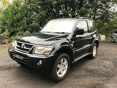 2005 Mitsubishi Shogun Warrior Swb Di-D Auto Black Spares Or Repair