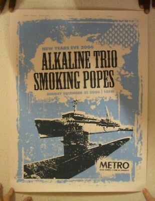 Alkaline Trio December 31st 2006 New Years Eve Poster