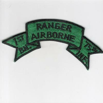 A032 US Army 1st Bn Ranger Airborne 75th Inf Patch > Win 10 Free US Shipping