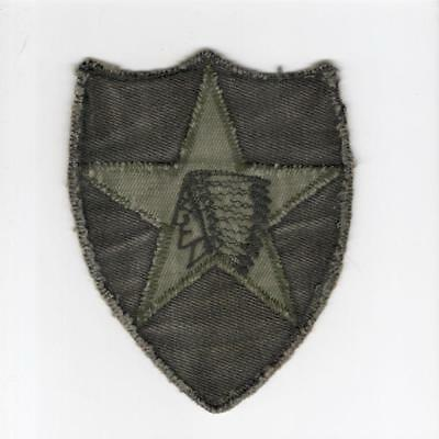 A021 Theater Made US Army 2nd Infantry Division Patch > Win 10 Free US Ship