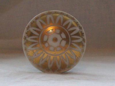 Door Knob Decorated In Gold Made In France