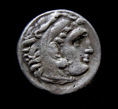 Greek  Kings of Macedon, Alexander III 'the Great' 336-323 BC Silver Coin