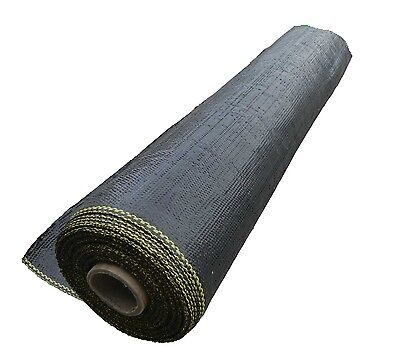 1.83 x 40m Weedmat Weed Control Mat 85gsm PP Woven Fabric Gardening Landscaping