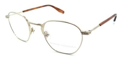 5bb2adf24c Barton Perreira RX Eyeglasses Frames Ginsberg 46x21 Gold Made in Japan
