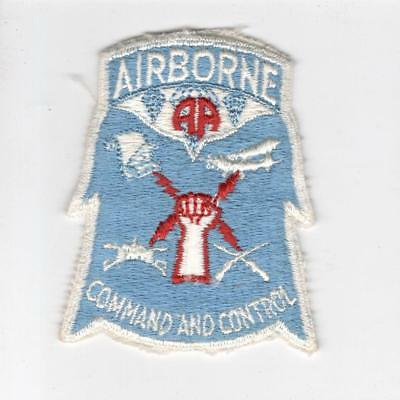 A286 US Army 82nd Airborne Division Cmd and Control Patch > 10 wins free US ship