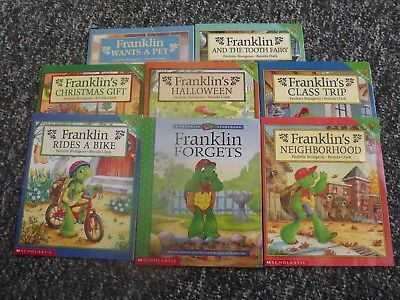 Lot of 8 Franklin Books by Paulette Bourgeois