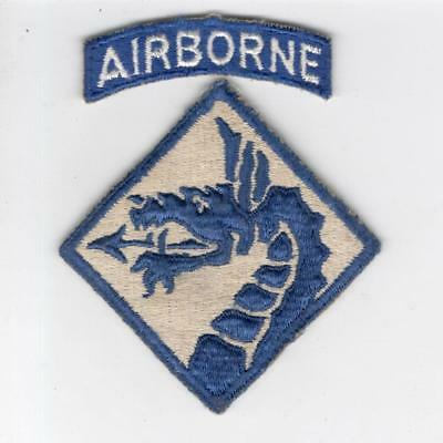A216 WW 2 US Army 18th Airborne Corps Patch & Tab > 10 wins free US ship