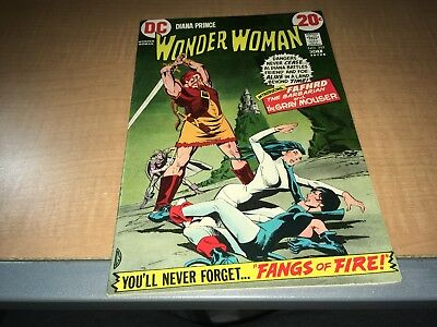 Diana Prince The New Wonder Woman 1972 DC Comic Book #202 DD