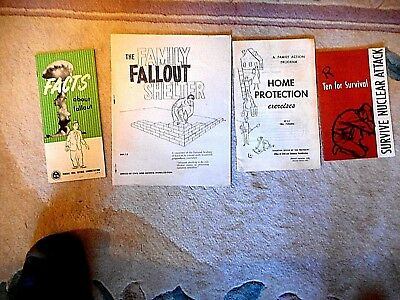 Survive Nuclear Attack The Family Fallout Shelter, Facts About Fallout Cold War