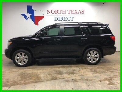 2014 Toyota Sequoia SR5 Premium Leather Back Up Camera 3rd Row Seat 2014 SR5 Premium Leather Back Up Camera 3rd Row Seat Used 5.7L V8 32V Automatic