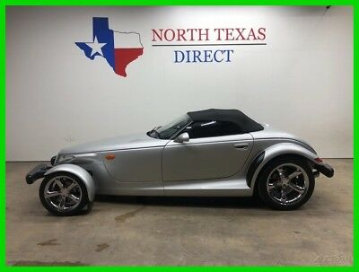 2000 Plymouth Prowler Convertible Premium Roadster Chrome Wheels Collect 2000 Convertible Premium Roadster Chrome Wheels Collect Used 3.5L V6 24V