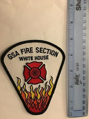 Presidential White House Fire Department Government Services Admin. (Vintage)