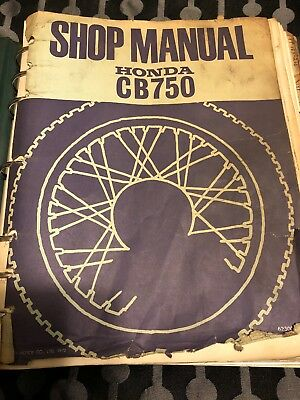 vintage honda shop manual cb750 1972 wiring diagram cb750k5 addendum more  k8 f3