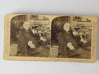 LOT: 7 1896-1901 STEREOVIEW CARDS of PRESIDENT MCKINLEY~INAGRUATION~DEATH~