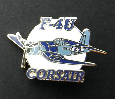 VOUGHT CORSAIR F4U FIGHTER AIRCRAFT LAPEL PIN 1.5 inches