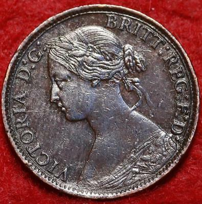 1860 Great Britain Farthing Foreign Coin