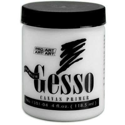 Pro-art 4-ounce Premium Gesso Canvas Primer - Proart Ounces Oz