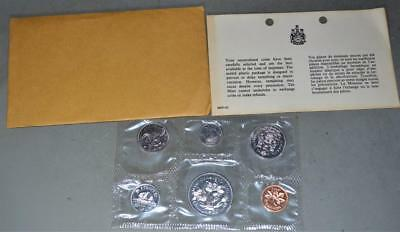 Canada 1970 Uncirculated Mint Set 6 Coins with Manitoba Centennial Dollar