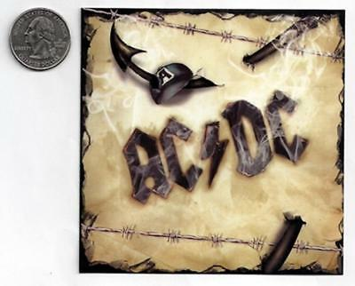 AC/DC ACDC Barbwire Sticker/Decal rock metal band car bumper