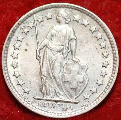 1960 Switzerland 1/2 Franc Silver Foreign Coin