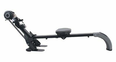Opti Gym and Elastic Cord Variable Tension Folding Rowing Machine with DVD