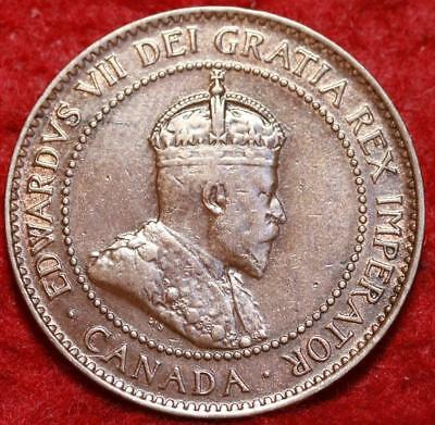 1907 Canada One Cent Foreign Coin