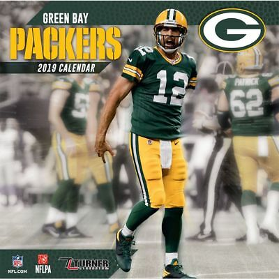 2019 Green Bay Packers Wall Calendar, Green Bay Packers by Turner Licensing