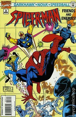 Amazing Spider-Man Friends and Enemies #3 1995 VF Stock Image