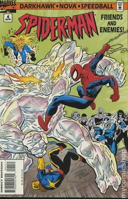 Amazing Spider-Man Friends and Enemies #4 1995 VF Stock Image