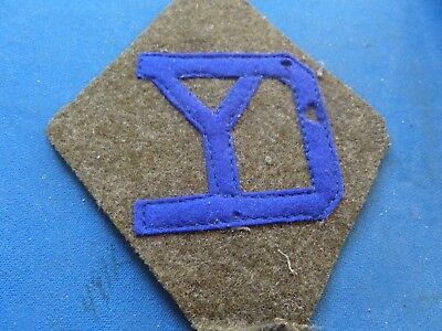 WW I US ARMY 26TH INFANTRY DIVISION AUTHENTIC & ORIGINAL WOOL PATCHes & Stripes