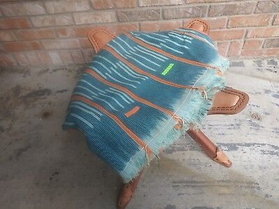 """Authentic African Handwoven  Mud Cloth From cote d'Ivoire Size 57x42"""""""