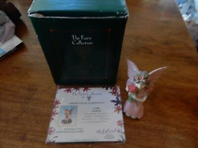 The Fairy Collection The Fragrant Fairy With Certificate Of Authenticity Boxed