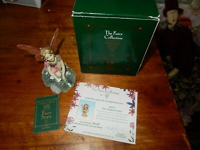 The Fairy Collection Gardenia Fairy With Certificate Of Authenticity Boxed