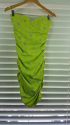 NICOLE MILLER sz 8 (or  4 us  ) womens strapless dress NEW + TAGS [#2021]