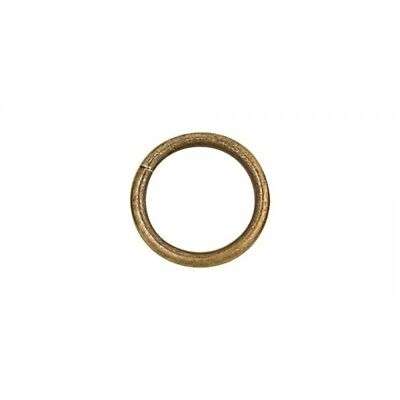 """1909 O Ring 1-1/4"""" (32mm) - Nickel Free - Antique Brass Finish - Pack Of 10"""