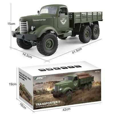 JJRC Q60 1:16 Military Truck Army Car 2.4G 6WD RC Off-road RTR Model Toy X7X0