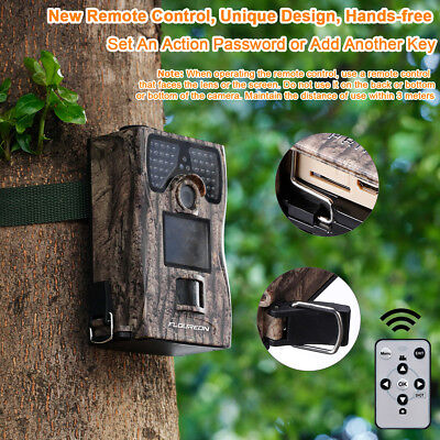 12MP 1080P HD Hunting Camera Game Trail Trap Wildlife Cam 20M Night Vision 2.0""