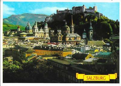 Salzburg - View from the Monchsberg - Posted Postcard 1993