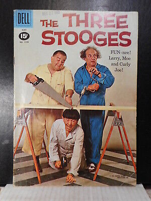 Four Color # 1170  (1961)  Three Stooges  VG  109TB.