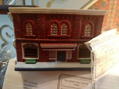 """Hawthorne Village-Mayberry Collection 1995!  """"post Office """" In Original Box"""