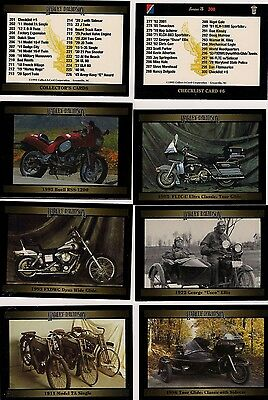 Series 3 Harley Davidson Trading Card Set - Complete Hand Collated