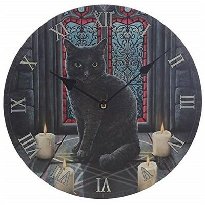 Lisa Parker Sacred Circle Cat Picture Clock