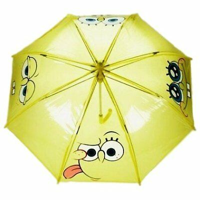 Official Spongebob Squarepants Yellow Children's Umbrella Brolly New With Tags